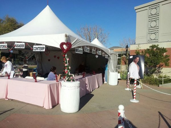 Glendale Chocolate Affaire Author Booth